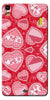 Digiprints Beautiful Pink Heart Design Printed Back Case Cover For Lenovo K3 Note