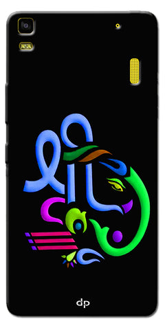 Digiprints Graphic Design Ganesha Back Case Cover For Lenovo A7000