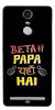 Digiprints Beta Papa Yaha Hai Printed Designer Back Case Cover For Lenovo K5 Note