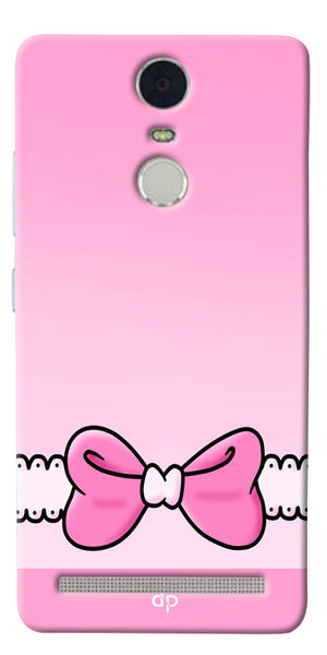 Digiprints Bing Bow Printed Back Case Cover For Lenovo K5 Note
