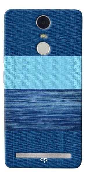 Digiprints Big Blue Denim Pattern Back Case Cover For Lenovo K5 Note