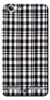 Digiprints Black Checks Printed Designer Back Case Cover For Lenovo K5 Plus