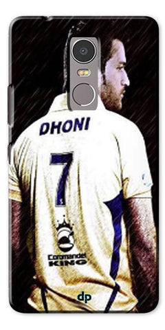 Digiprints Ms Dhoni Art Printed Back Case Cover For Lenovo K6 Note
