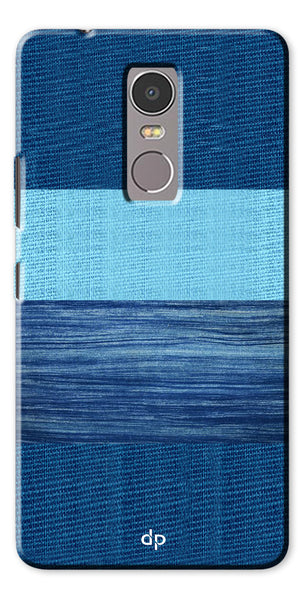 Digiprints Big Blue Denim Pattern Back Case Cover For Lenovo K6 Note