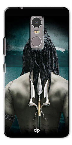 Digiprints Lord Shiva Back Case Cover For Lenovo K6 Note