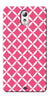 Digiprints Pink Pattern Printed Back Case Cover For Lenovo Vibe P1m