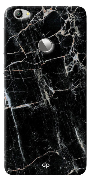 Digiprints Black Marble Design 2 Printed Designer Back Case Cover For LeEco Le 1s