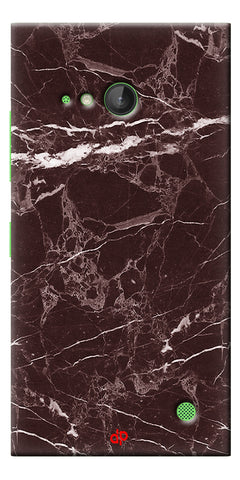 Digiprints  Marble Textured 9 Printed Case Cover For Microsoft Lumia 730