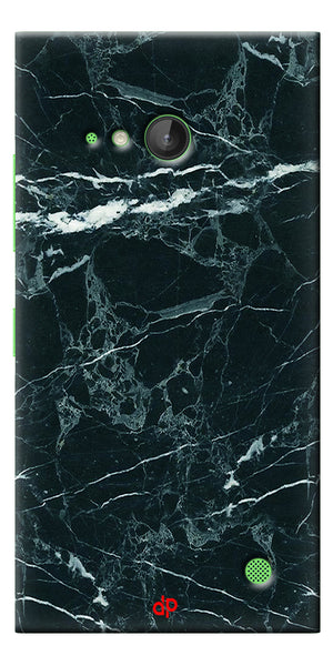 Digiprints  Marble Textured 10 Printed Case Cover For Microsoft Lumia 730