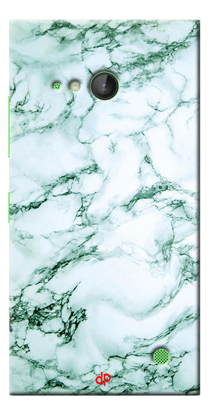Digiprints  Marble Textured 12 Printed Case Cover For Microsoft Lumia 730