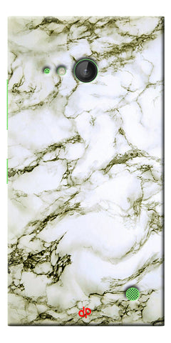Digiprints  Marble Textured 13 Printed Case Cover For Microsoft Lumia 730
