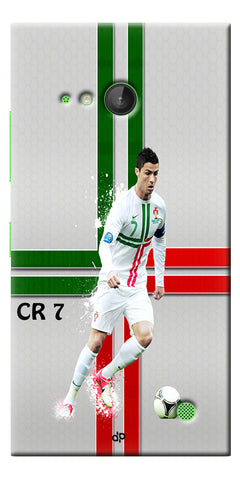 Digiprints  Cr7 Printed Back Case For Microsoft Lumia 730