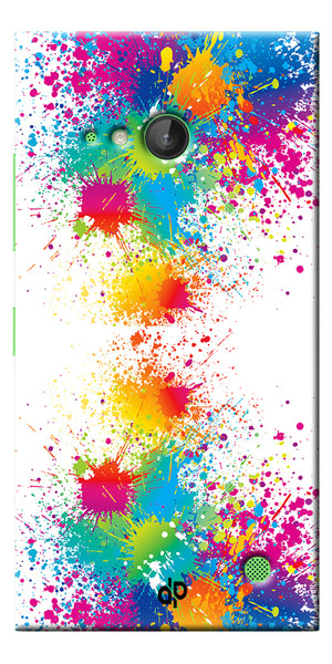 Digiprints  water color background Printed Designer Back Case Cover For Microsoft Lumia 730