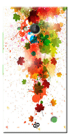 Digiprints  paint splatter Printed Designer Back Case Cover For Microsoft Lumia 730