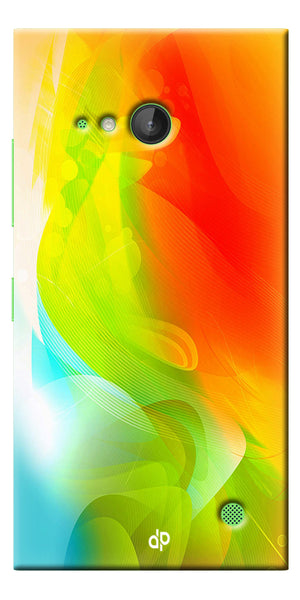 Digiprints  ColorFull Printed Designer Back Case Cover For Microsoft Lumia 730