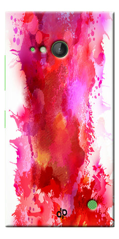Digiprints multi color water color Printed Designer Back Case Cover For Microsoft Lumia 730