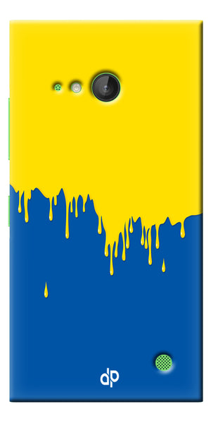 Digiprints dripping paint Printed Designer Back Case Cover For Microsoft Lumia 730