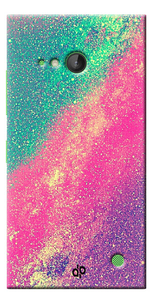 Digiprints glitter background Printed Designer Back Case Cover For Microsoft Lumia 730