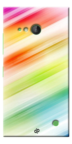 Digiprints Colorful background Printed Designer Back Case Cover For Microsoft Lumia 730