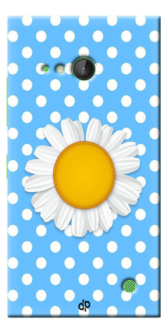Digiprints flower Printed Designer Back Case Cover For Microsoft Lumia 730