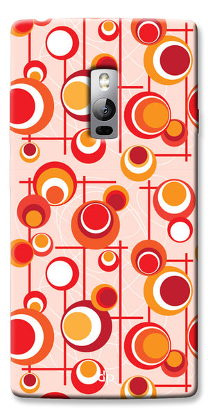 Digiprints Beautiful Geometric Patterns Back Case Cover For OnePlus 2