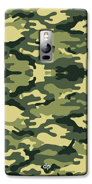 Digiprints Army Pattern Back Case Cover For OnePlus 2