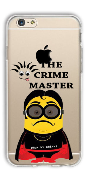 Digiprints Crime Master Printed Clear Case For Apple iPhone 6
