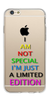 Digiprints I Am Special Edition Printed Clear Case For Apple iPhone 6