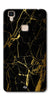 Digiprints Black Marble Design 1 Printed Designer Back Case Cover For Vivo V3