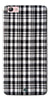 Digiprints Black Checks Printed Designer Back Case Cover For Vivo V5