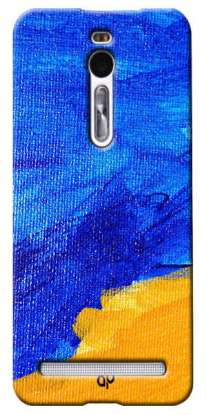 Digiprints abstract painted Printed Designer Back Case Cover For Asus Zenfone 2 ZE551ML