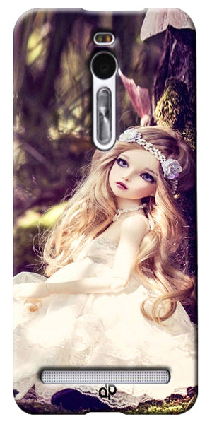 Digiprints Cute doll wallpape Printed Designer Back Case Cover For Yu Yuphoria