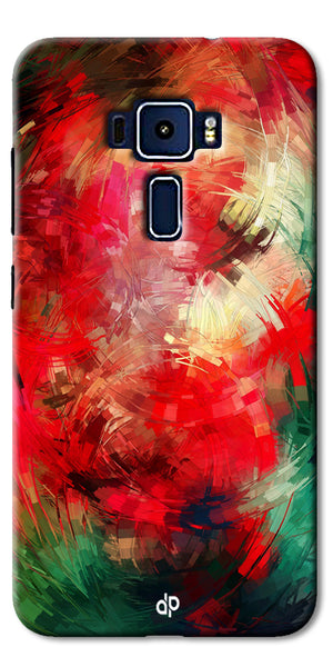 Digiprints  abstract swirl Printed Designer Back Case Cover For Asus Zenfone 3 Laser ZC551KL