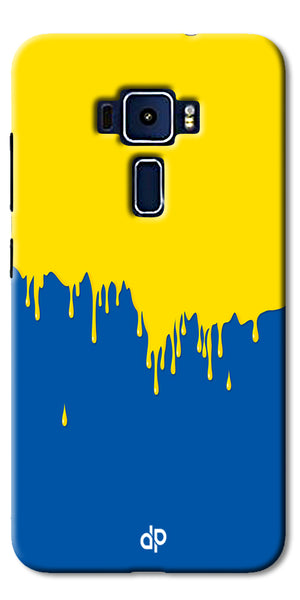 Digiprints dripping paint Printed Designer Back Case Cover For Asus Zenfone 3 Laser ZC551KL