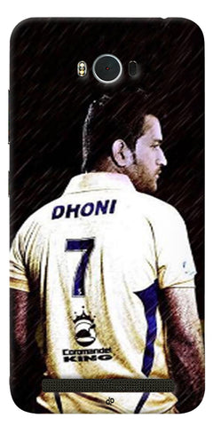 Digiprints Ms Dhoni Art Printed Back Case Cover For Asus Zenfone Max ZC550KL
