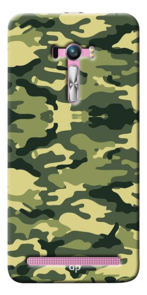 Digiprints Army Pattern Back Case Cover For Asus Zenfone Selfie ZD551KL