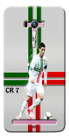 Digiprints  Cr7 Printed Back Case For Asus Zenfone Selfie ZD551KL