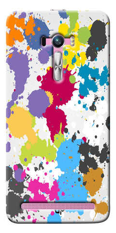 Digiprints  paint slatter Printed Designer Back Case Cover For Asus Zenfone Selfie ZD551KL