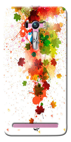 Digiprints  paint splatter Printed Designer Back Case Cover For Asus Zenfone Selfie ZD551KL