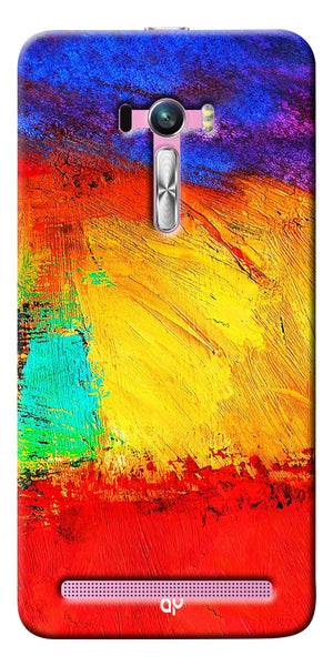 Digiprints ColorFull background Printed Designer Back Case Cover For Asus Zenfone Selfie ZD551KL