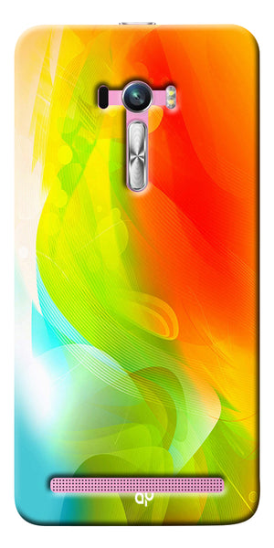 Digiprints  ColorFull Printed Designer Back Case Cover For Asus Zenfone Selfie ZD551KL