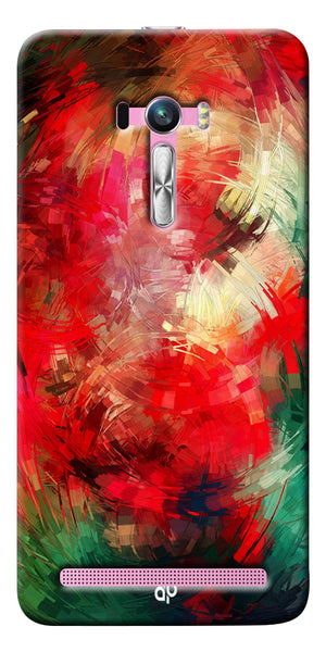 Digiprints  abstract swirl Printed Designer Back Case Cover For Asus Zenfone Selfie ZD551KL