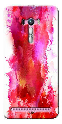 Digiprints multi color water color Printed Designer Back Case Cover For Asus Zenfone Selfie ZD551KL