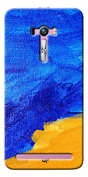 Digiprints abstract painted Printed Designer Back Case Cover For Asus Zenfone Selfie ZD551KL