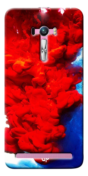 Digiprints Color Flow Printed Designer Back Case Cover For Asus Zenfone Selfie ZD551KL