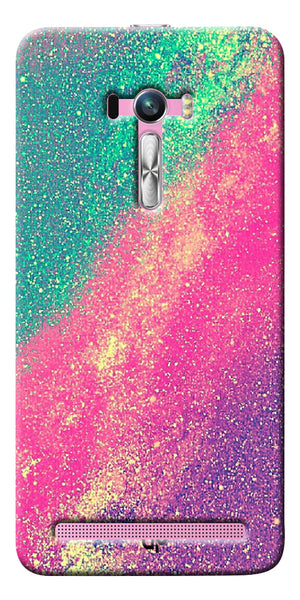 Digiprints glitter background Printed Designer Back Case Cover For Asus Zenfone Selfie ZD551KL