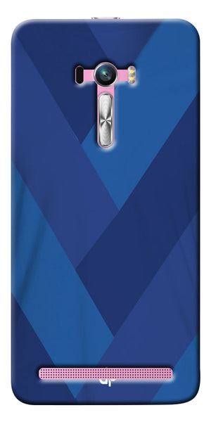 Digiprints cobalt blue back ground Printed Designer Back Case Cover For Asus Zenfone Selfie ZD551KL