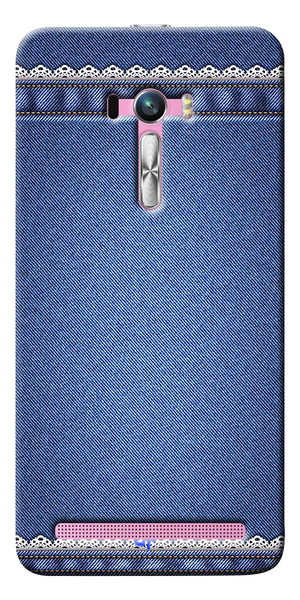 Digiprints cobalt blue Printed Designer Back Case Cover For Asus Zenfone Selfie ZD551KL