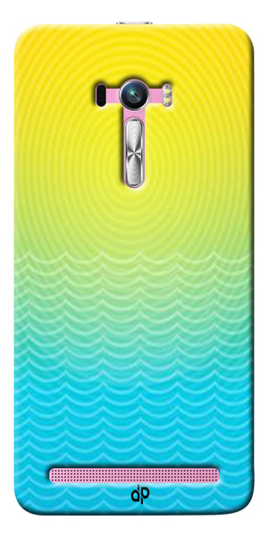 Digiprints Creative Sea Wate Printed Designer Back Case Cover For Asus Zenfone Selfie ZD551KL