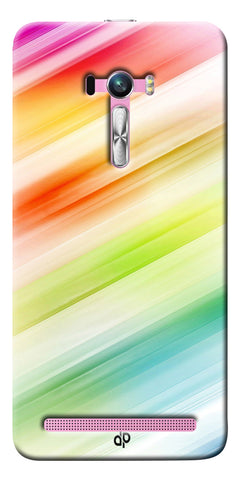 Digiprints Colorful background Printed Designer Back Case Cover For Asus Zenfone Selfie ZD551KL
